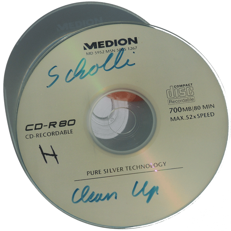 Clean Up CD